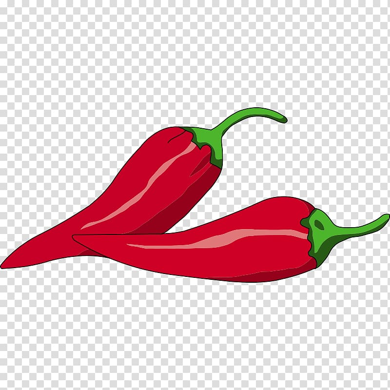 Peppers clipart cayenne pepper. Red chili on beige
