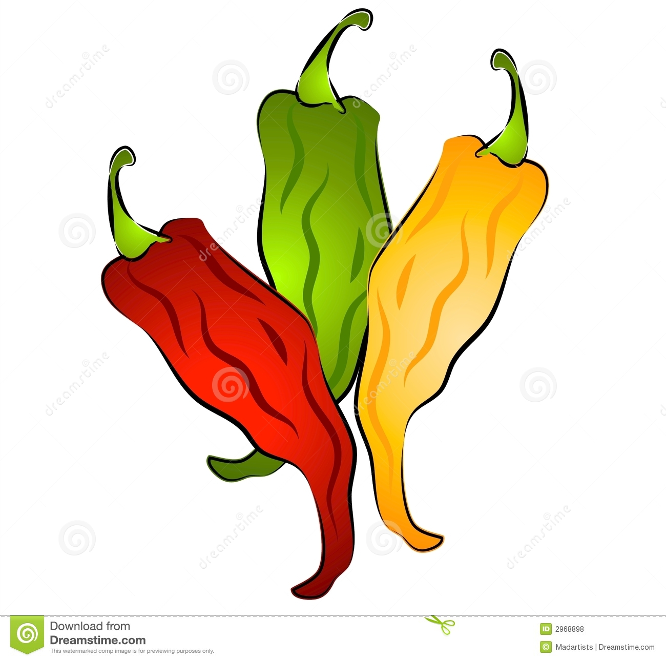 clip art clipartlook. Peppers clipart chili pepper