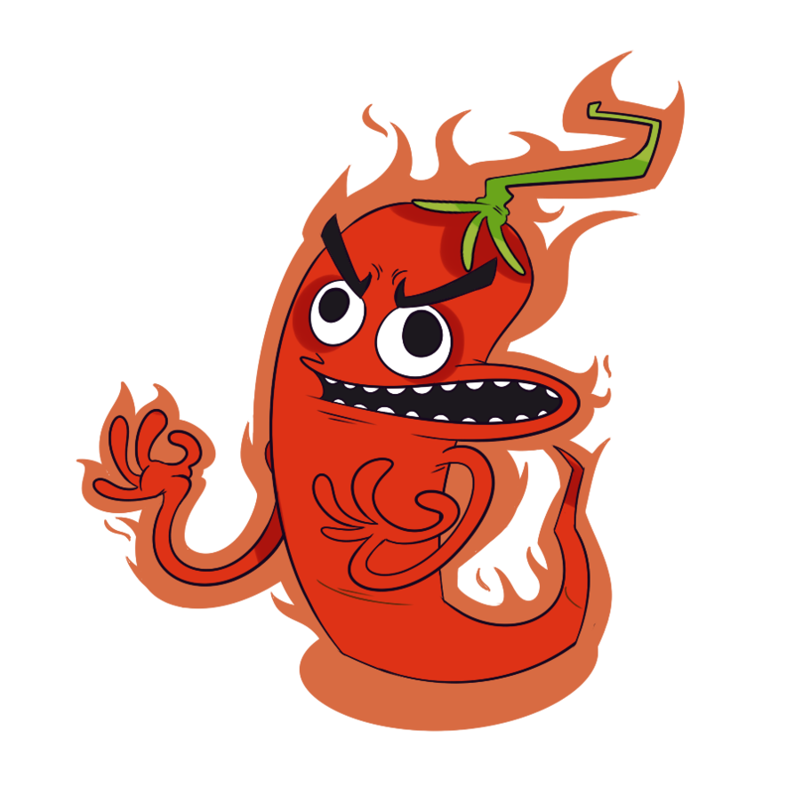 Chilli pepper may challenge. Peppers clipart drawing