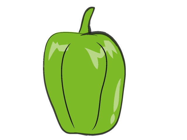 Peppers clipart green vegetable. Free cliparts download clip