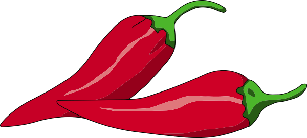 Chili cliparts zone . Peppers clipart hot pepper