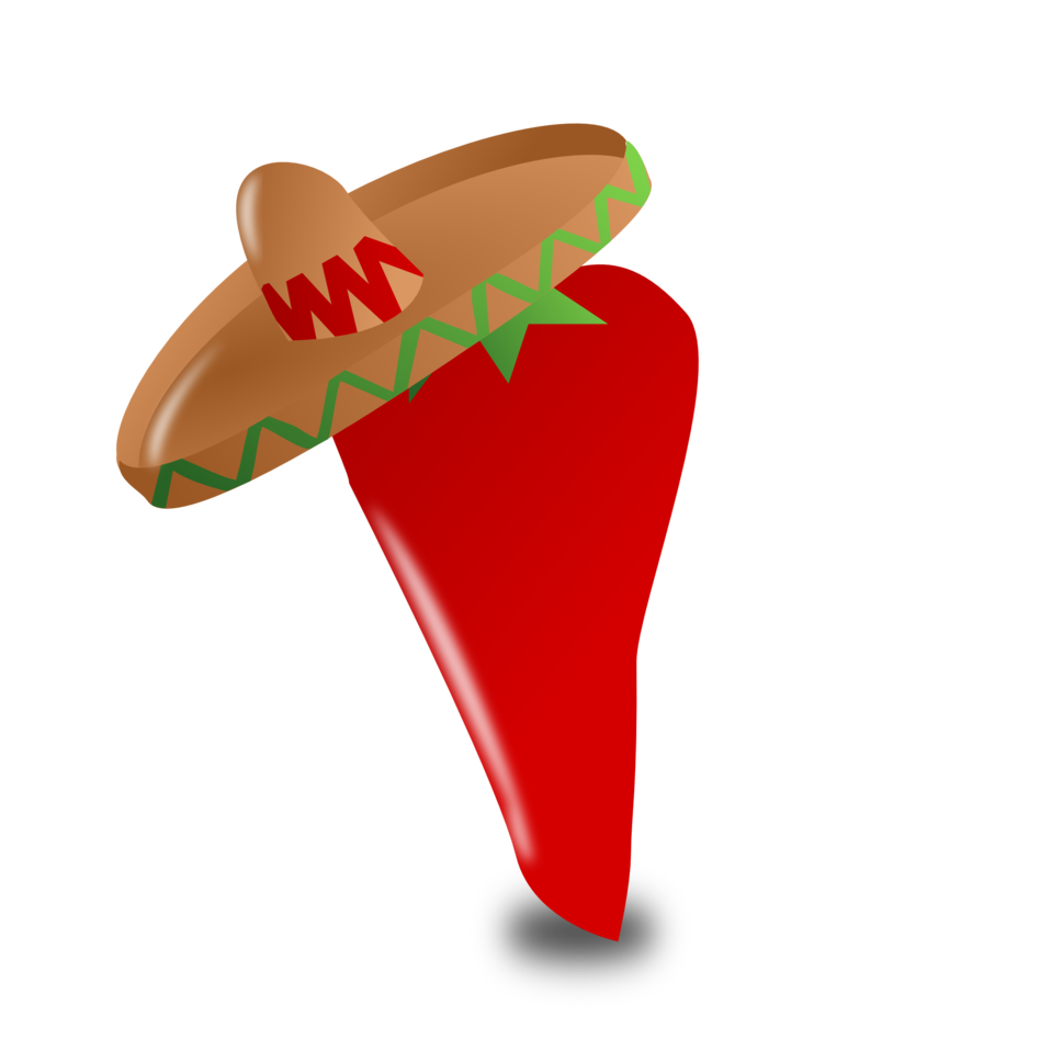 Peppers clipart pepper mexican. Public domain clip art