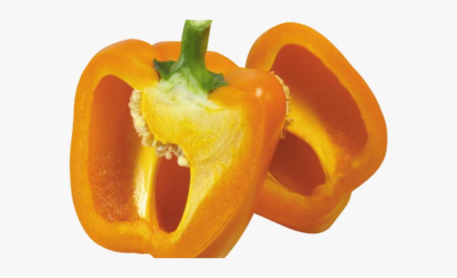 Peppers clipart pepper slice. Transparent background sliced bell