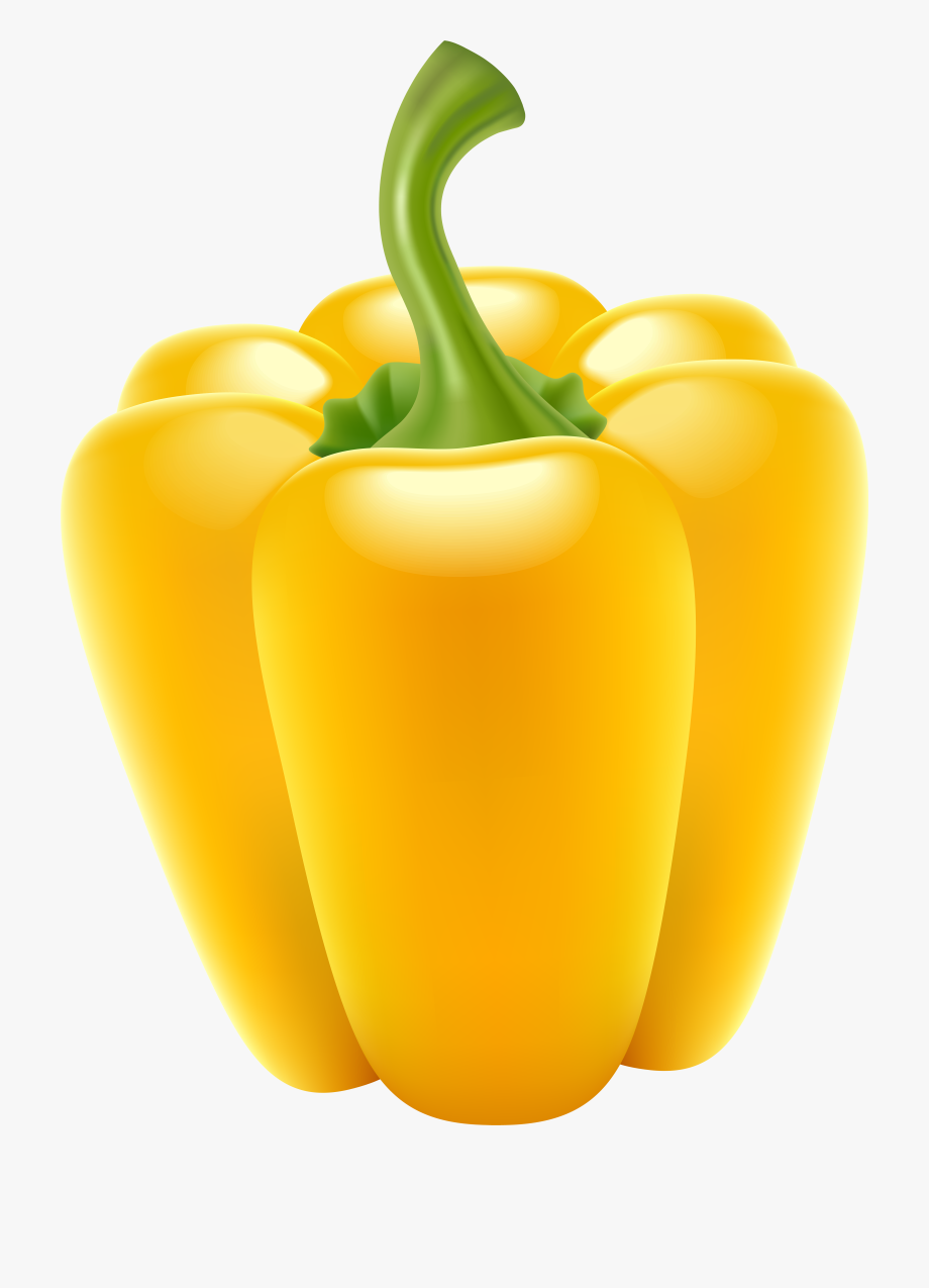 Peppers clipart yellow pepper. Bell plant png free