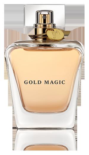 Image gold magic little. Perfume bottle png