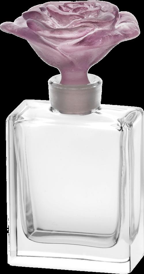 Perfume bottle png. Rose passion daum