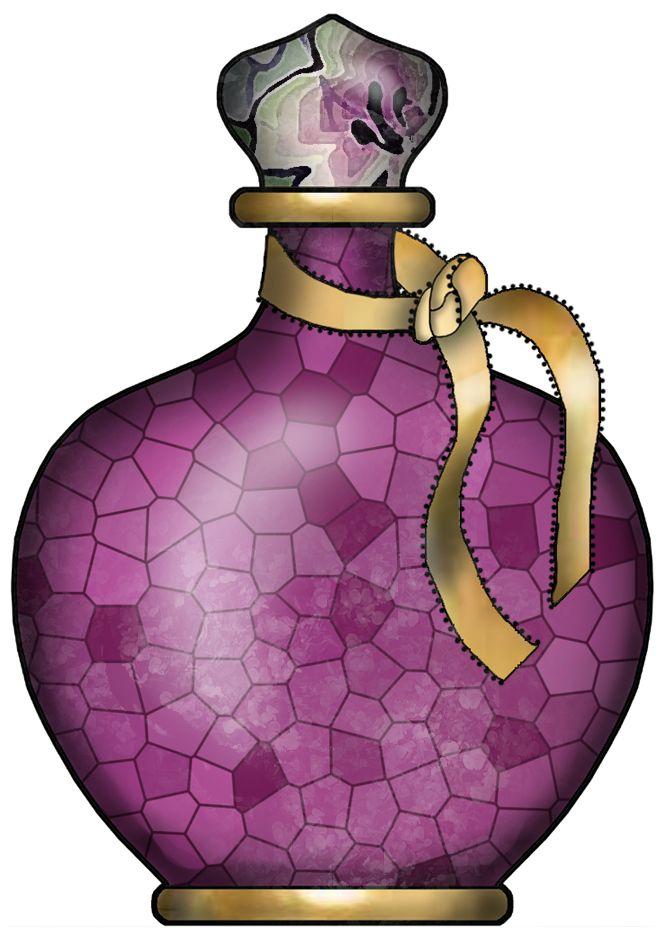 Perfume clipart. Bottles clip art pretty