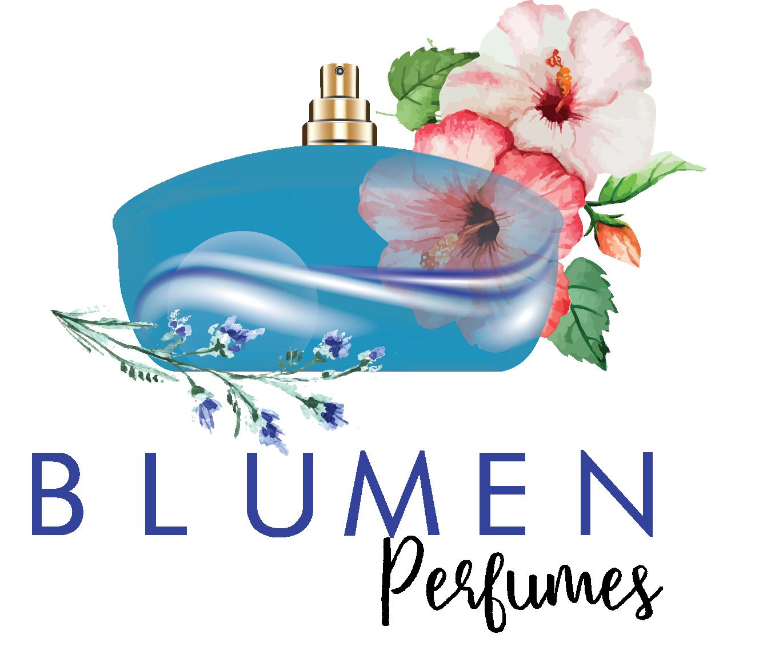 Blumen perfumes your fragrance. Perfume clipart aroma