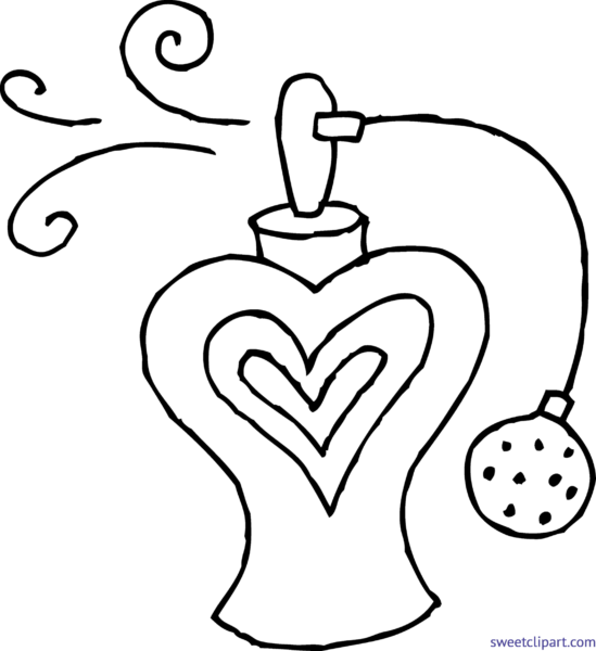 All clip art archives. Perfume clipart black and white