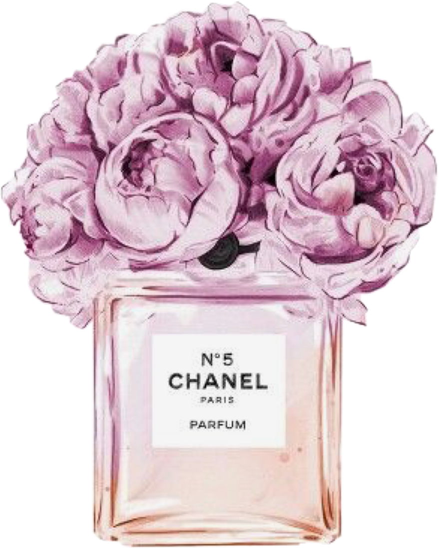 Flowers fragrance ftestickers freetoedit. Perfume clipart chanel no 5