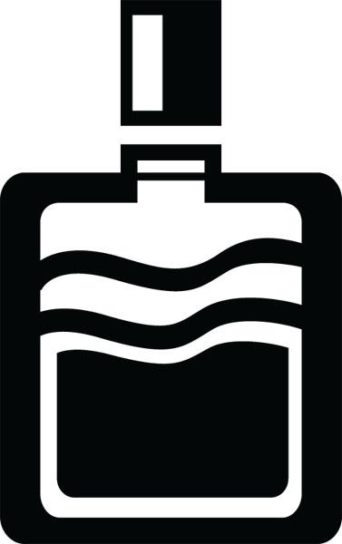 Clip art for fashion. Perfume clipart cologne bottle
