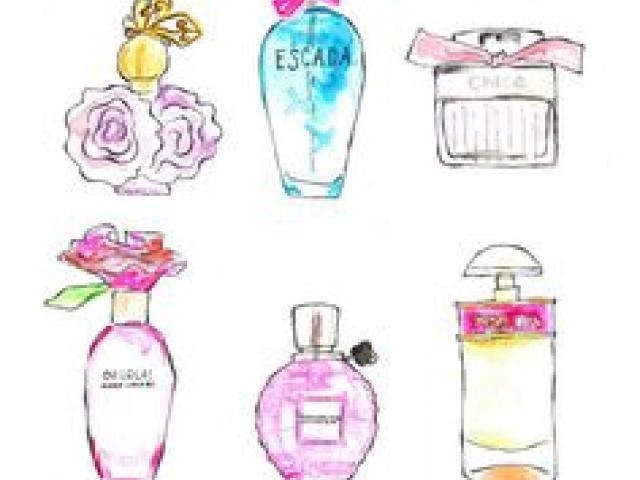 Perfume clipart fashion item. Free download clip art