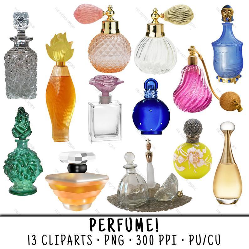 perfume clipart perfume bottle
