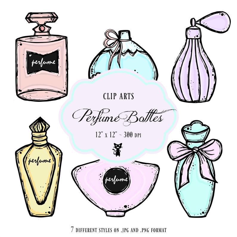 Bottles clip art parfum. Perfume clipart perfume french