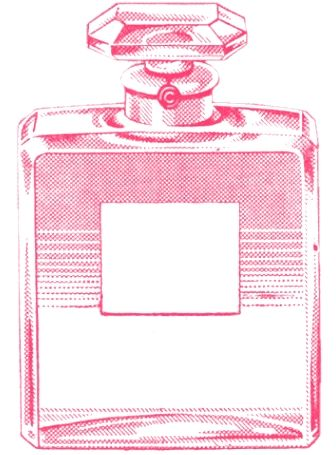 Perfume clipart pink perfume. Sweetly scrapped vintage chanel