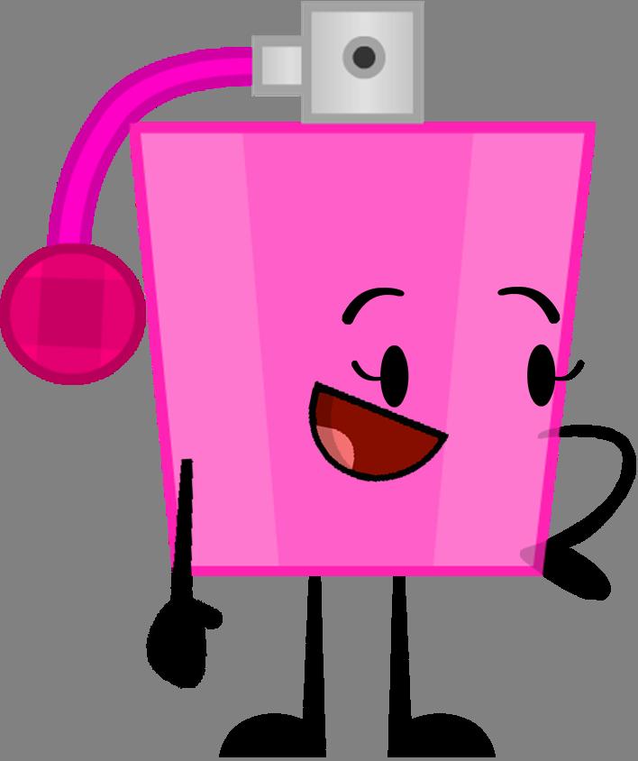 Image pose by ultrajacob. Perfume clipart pink perfume