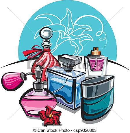 Station . Perfume clipart pleasant smell
