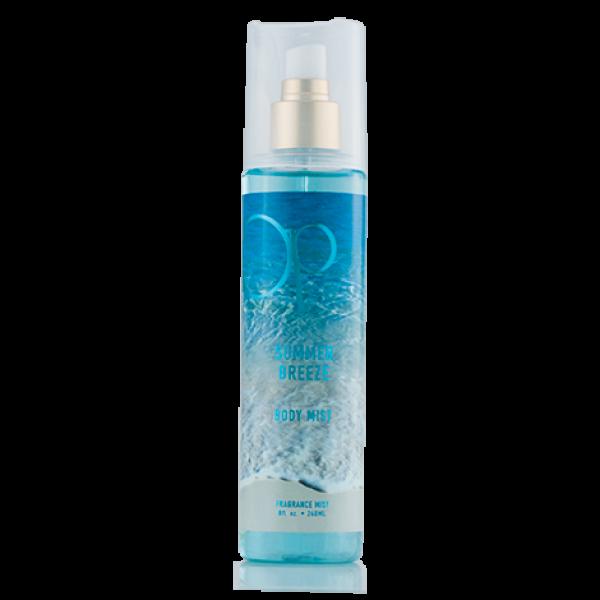Op summer breeze body. Perfume clipart spray mist