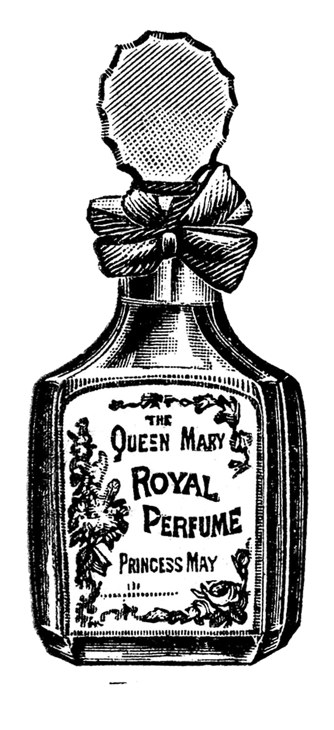 Free digital images vintage. Perfume clipart toiletries