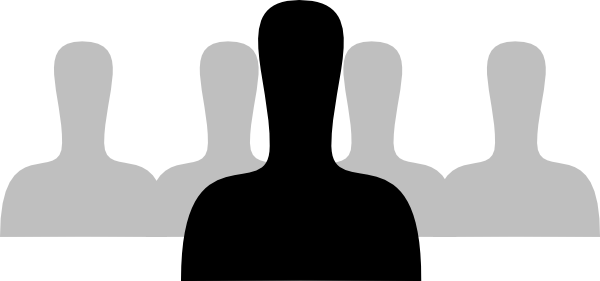 Silhouette at getdrawings com. Person clipart