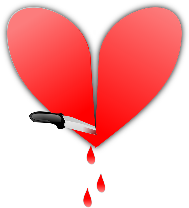 heart pics free. Person clipart broken hearted