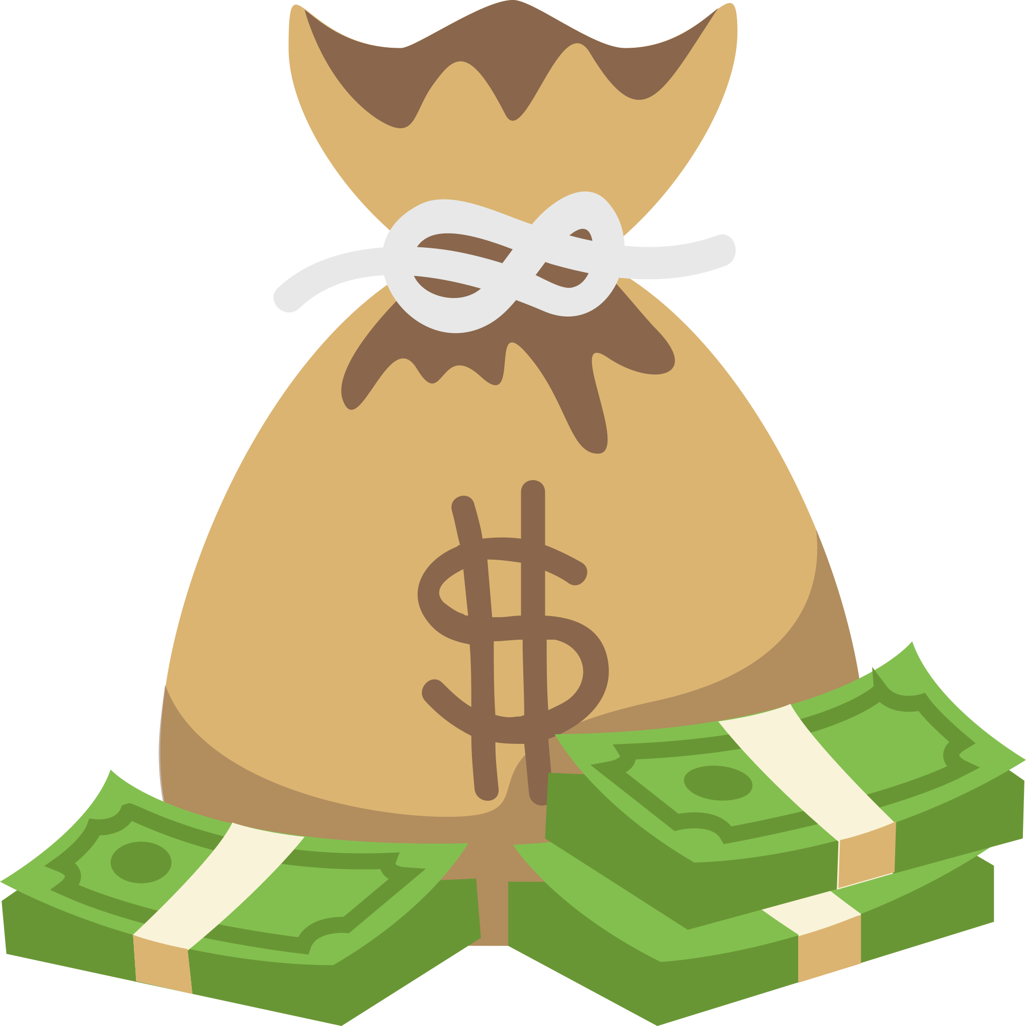Cartoon clipart shop of. Money bag emoji png