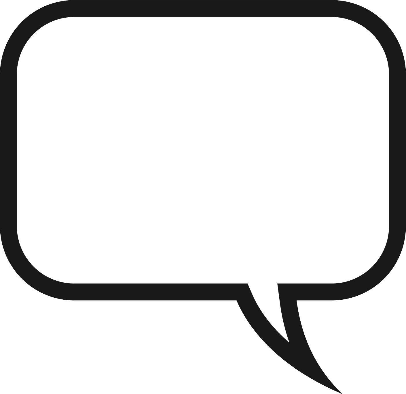 Thoughts clipart speech bubble.  awesome person with