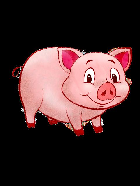 Pig clip art dog. Pet clipart aso