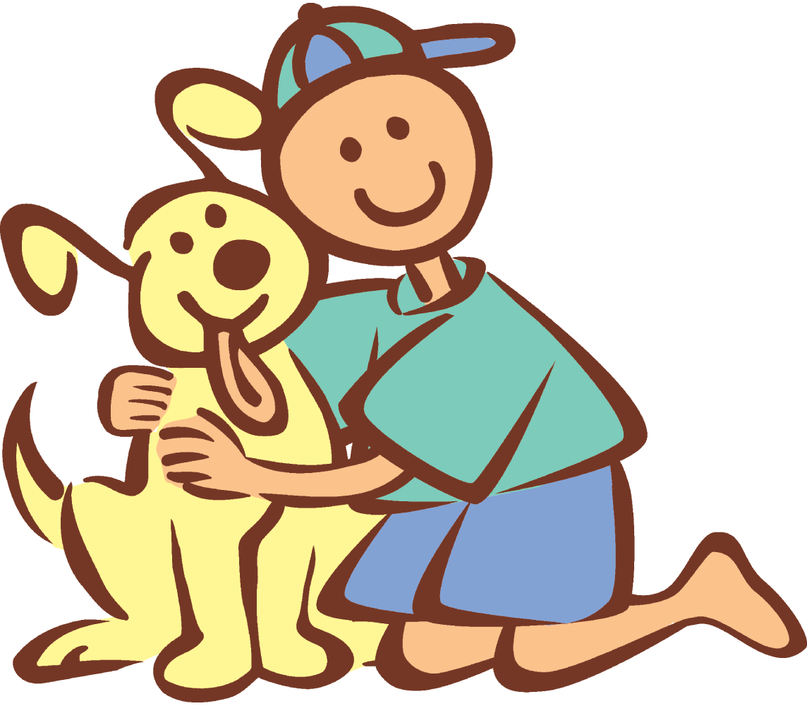 Pet clipart boy dog.  things you can