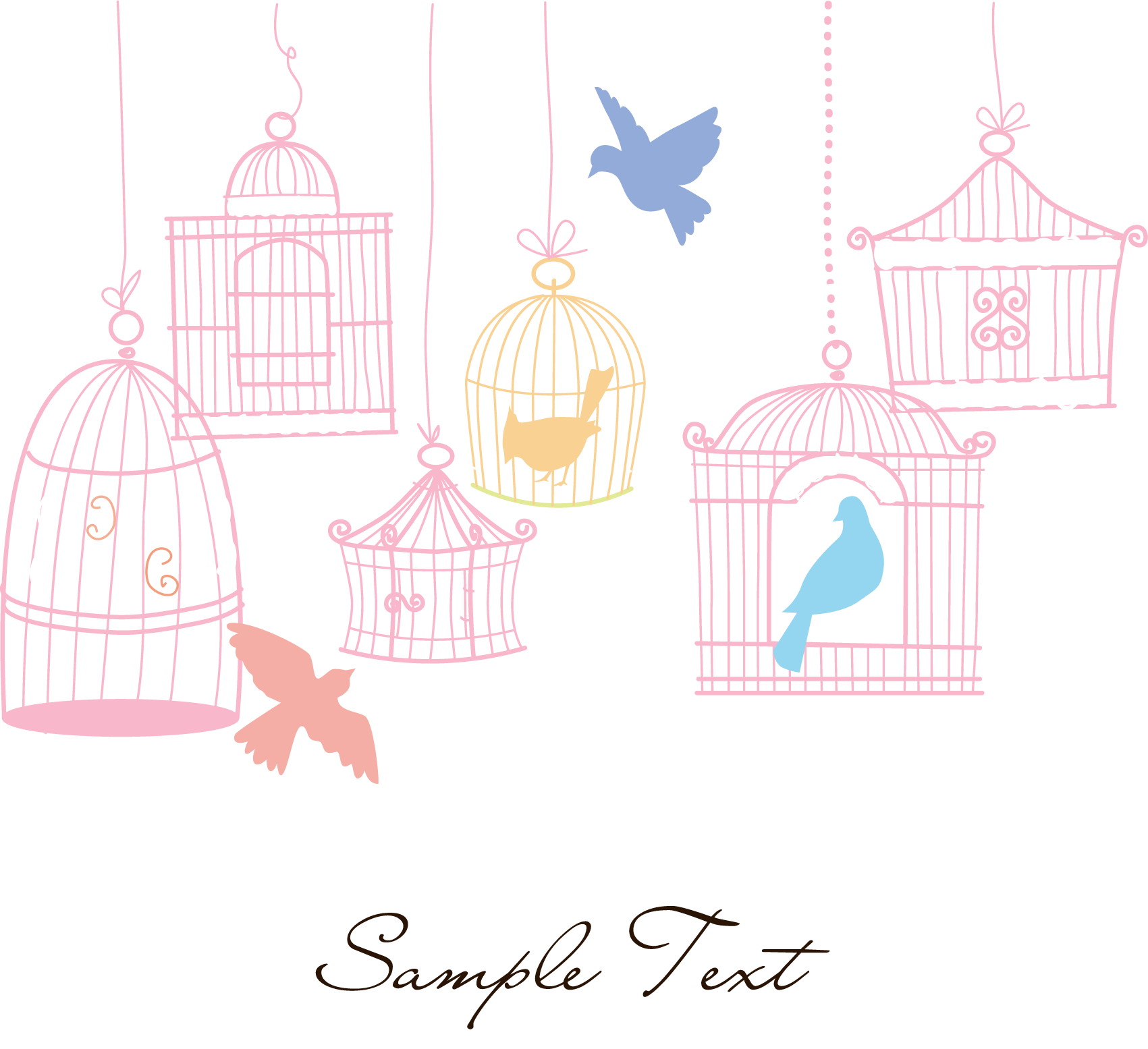 Pet clipart canary. Birdcage domestic small fresh