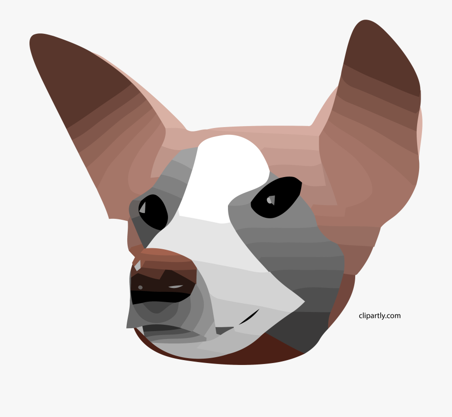 Pet clipart companion. Dog different style face