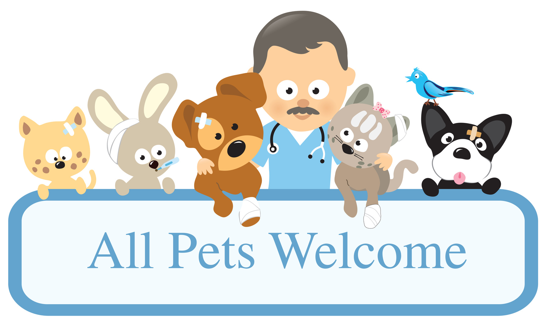 Pet clipart different pet. Health information advice crossroads