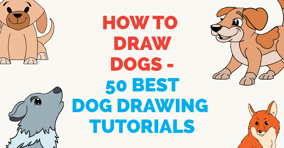 Pet clipart different pet. How to draw dogs