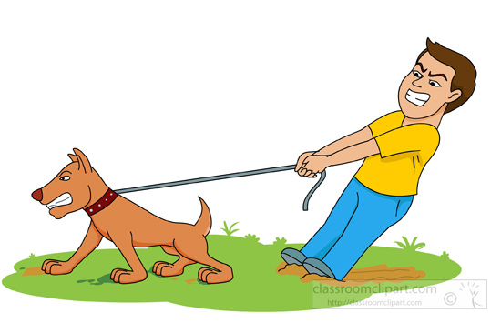 Free animals exercising cliparts. Pet clipart dog exercise