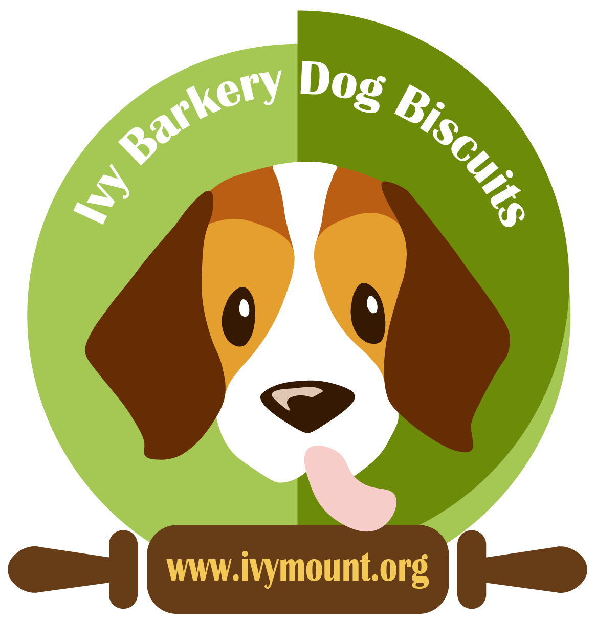 Ivy barkery the ivymount. Pet clipart dog lick