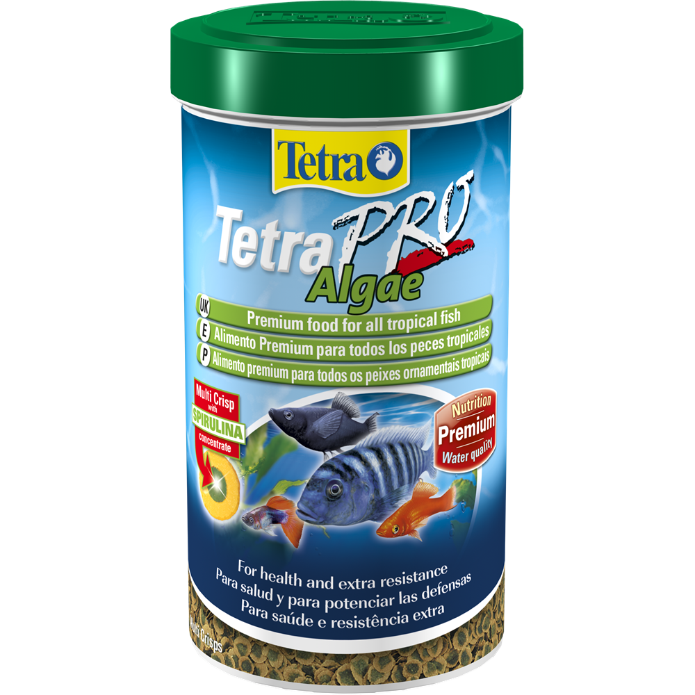 Pet clipart fish feeder. Staple food tetrapro algae