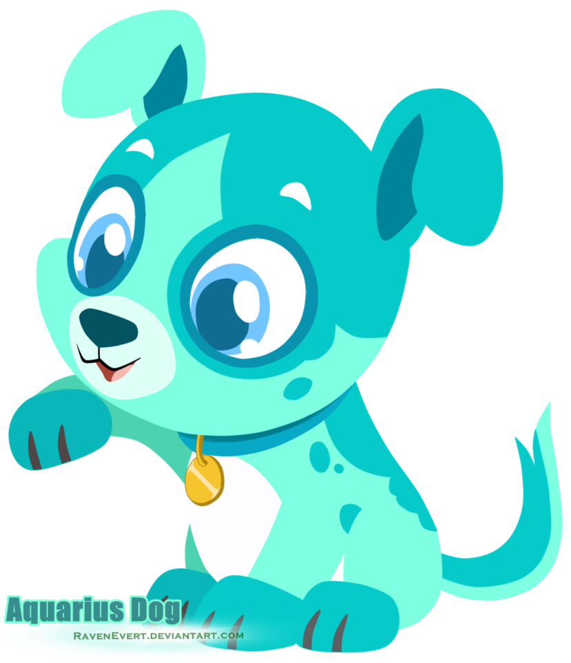 Pet clipart happy pet. Aquarius dog pets by