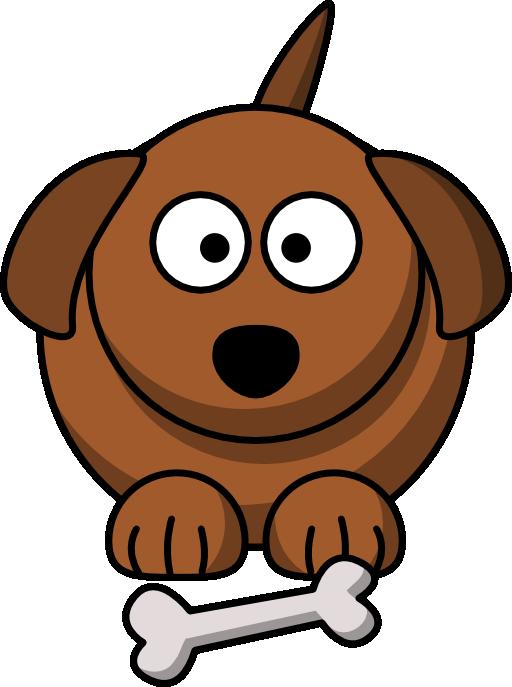 Cartoon dog i royalty. Pet clipart hungry