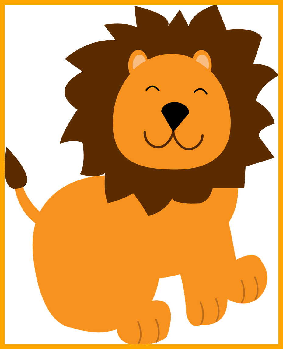ideas of head. Pet clipart lion