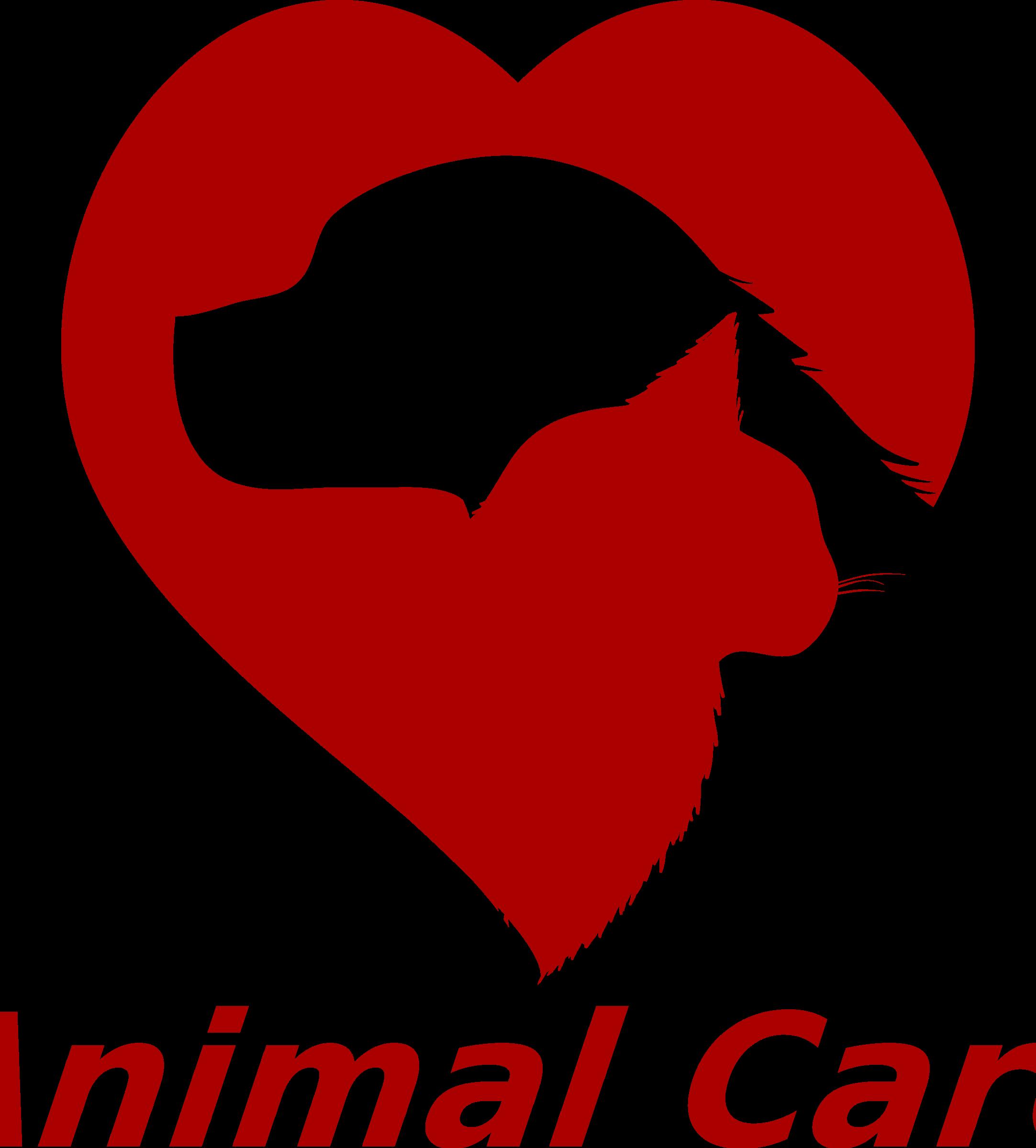 Pet clipart logo. Animal care big image