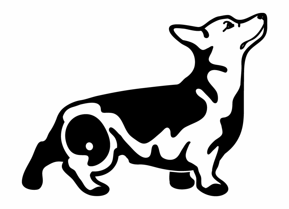 Tail silhouette at getdrawings. Pets clipart loyal dog