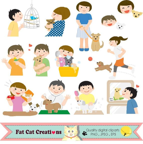 Pet clipart pet care. Dog s life and