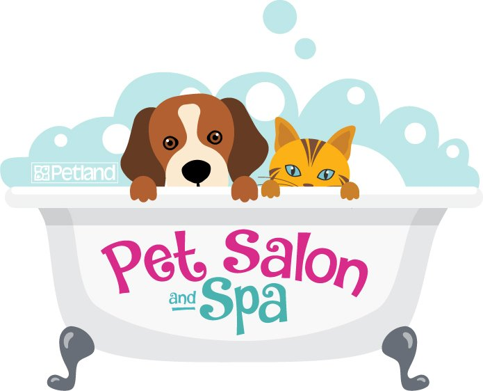 Salon spa petland pensacola. Pet clipart pet owner