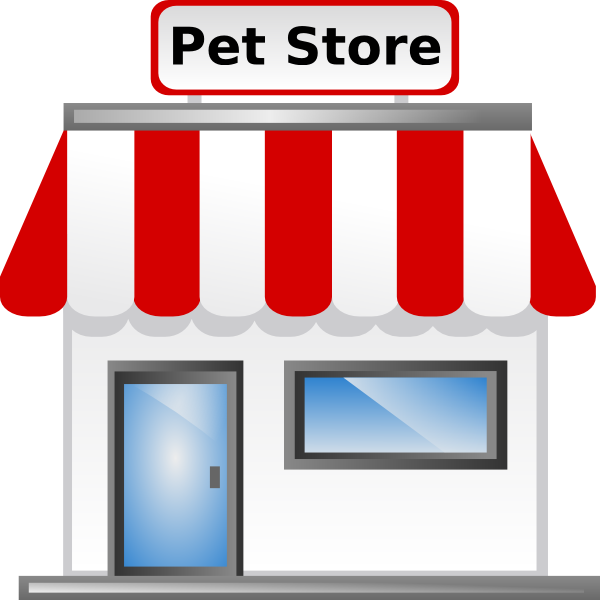 Clip art at clker. Pet clipart pet store