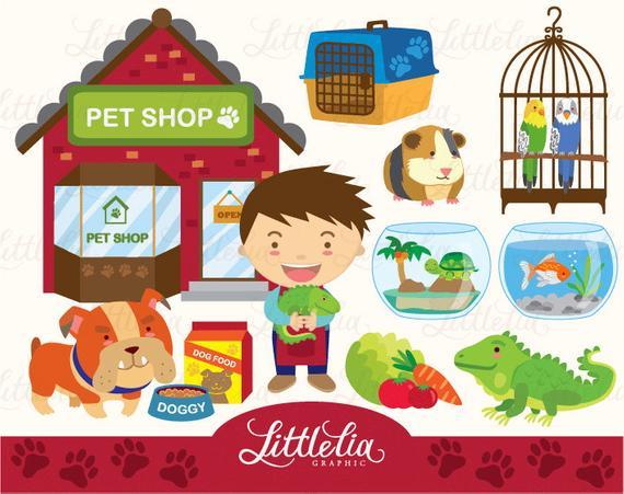 Boy s shop set. Pet clipart pet supply