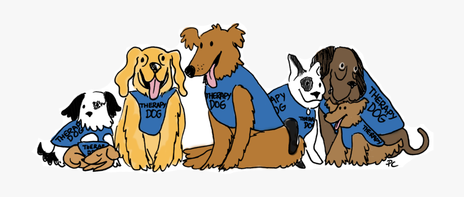 Pet clipart pet therapy. Carleton launches new dog