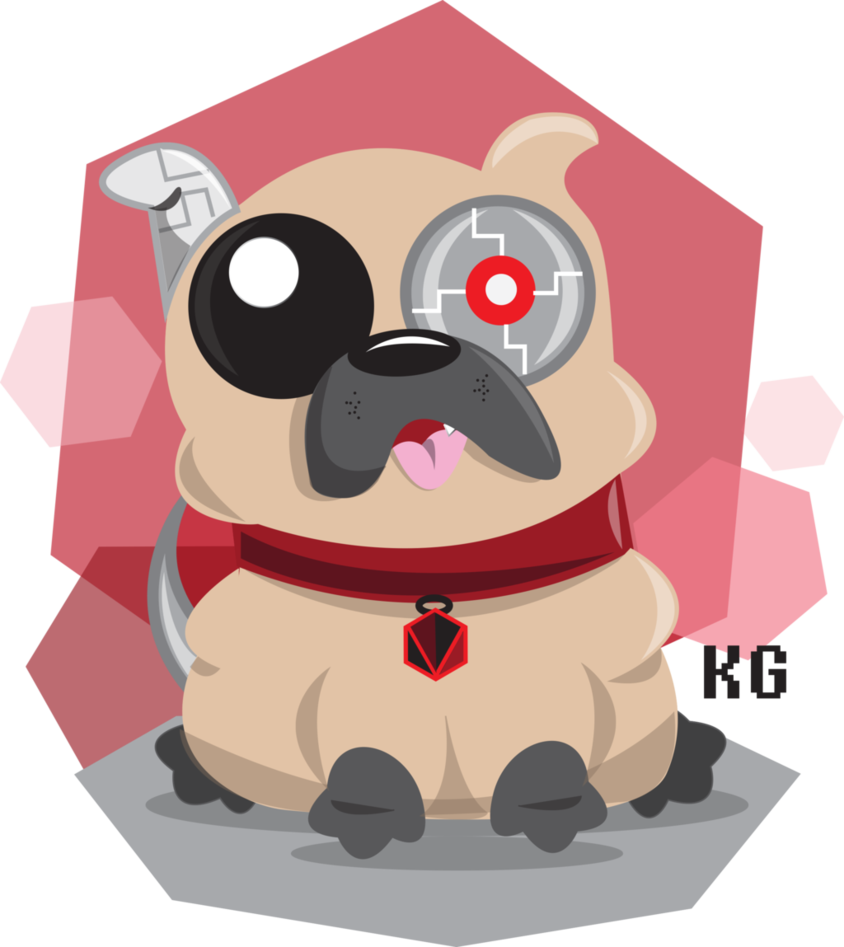 Daily drawing nutmeg the. Pet clipart pug
