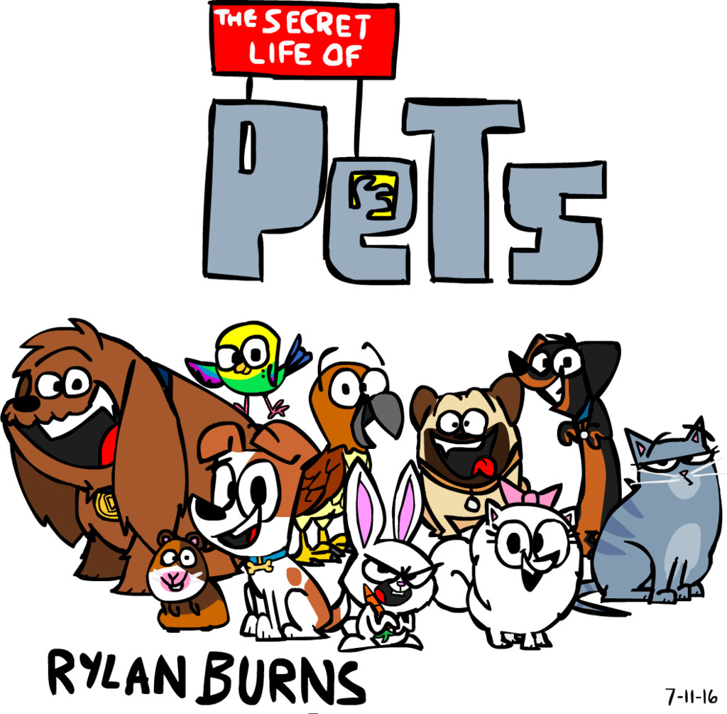 Pet clipart secret life pets. Rylanlego explore on deviantart