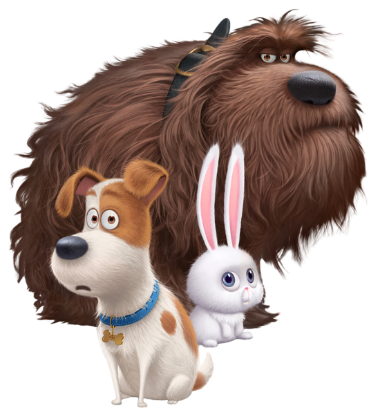 The of transparent png. Pet clipart secret life pets