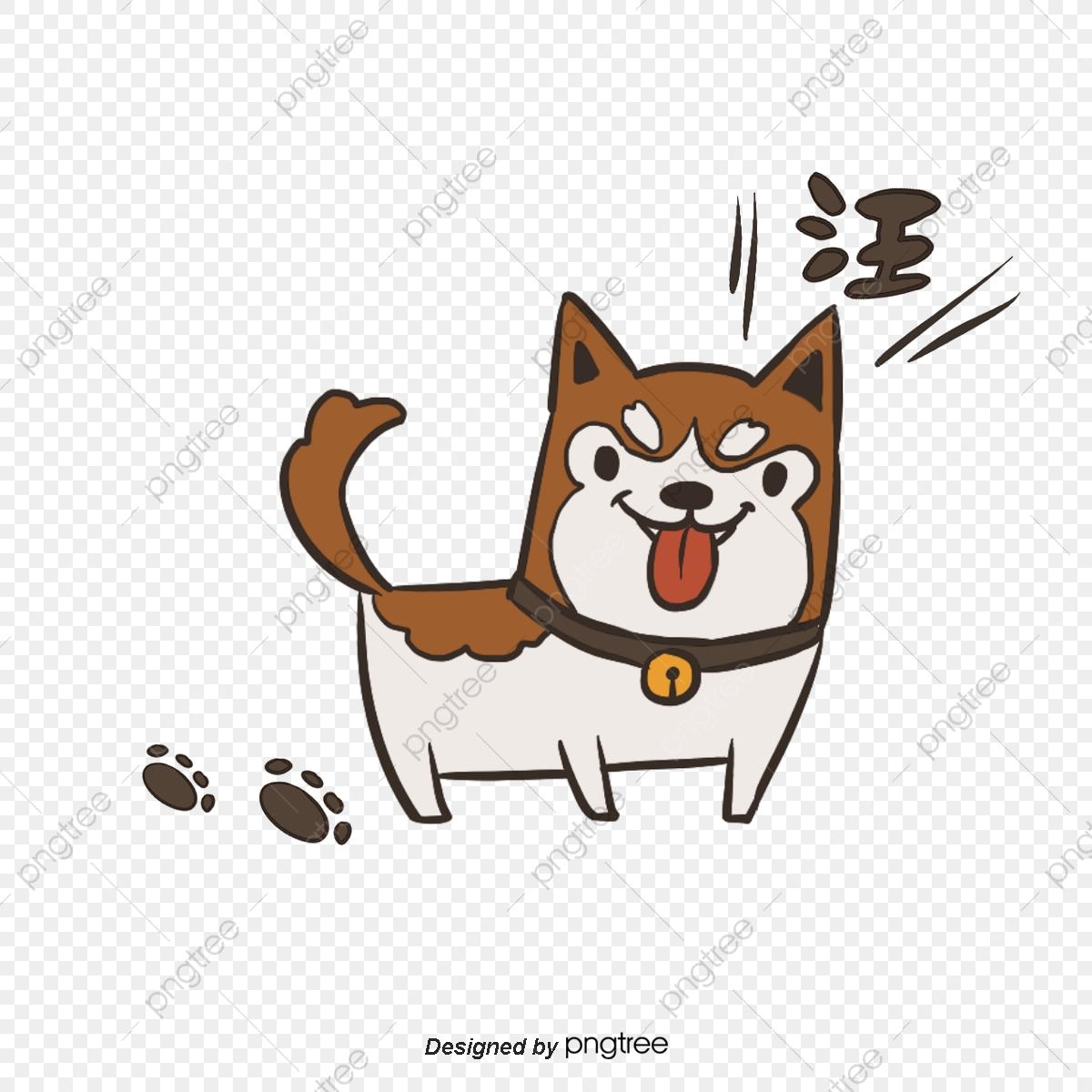 Pet clipart single animal. Cute puppy element dog